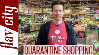 The ULTIMATE Guide To Grocery Shopping During The Quarantine