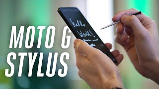 The Moto G Stylus is a $300 Note 10 alternative
