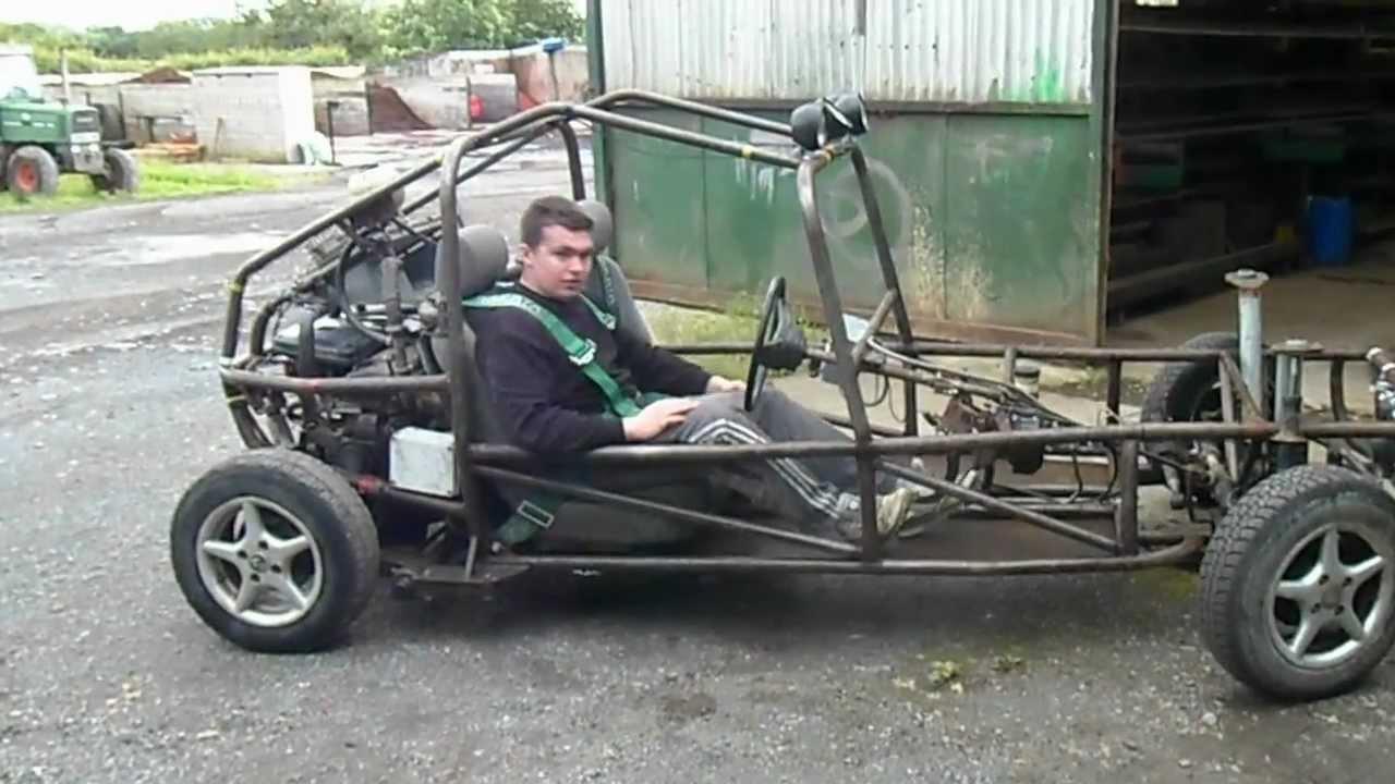 nissan sunny homemade buggy (2) - YouTube