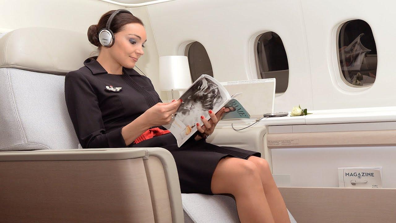 Cuáles son los mejores asientos en un avión? - YouTube