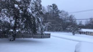 Maryland's Eastern Shore & WUITS Totally Snowed In!