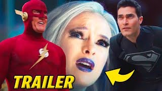 """The Flash 1990 Superman Crossover Full Trailer Review 