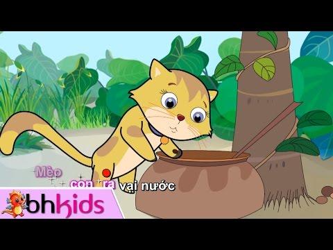 Vì Sao Con Mèo Rửa Mặt - Nhạc Thiếu Nhi Có Lời