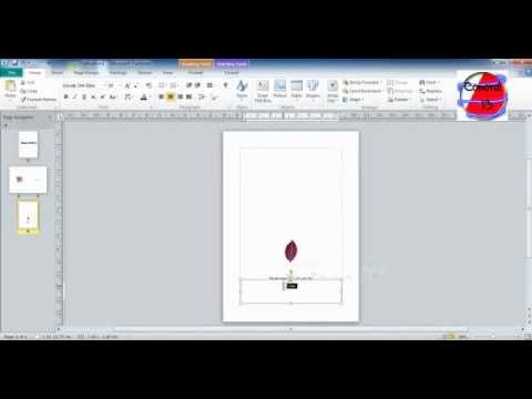 how to make a birthday card on microsoft word 2010