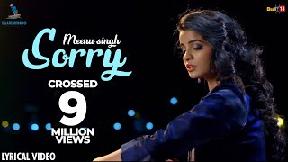 Sorry - Meenu Singh | Latest Punjabi Songs 2018 | Lyrical Video Song | Bluewinds Entertainment