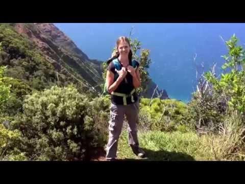 Hiking Honopu Ridge Trail in Waimea Canyon State Park, Kauai, Hawaii :)