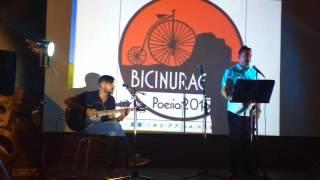 Lettura di alcune poesie a BiciNuragica