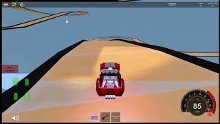 Hot wheels acceleracers Game roblox Ice realm (Link of the game in description)