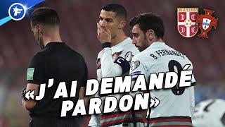 L'arbitre de Serbie-Portugal répond à la polémique avec Cristiano Ronaldo | Revue de presse