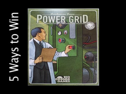 5 Ways to Win: Power Grid
