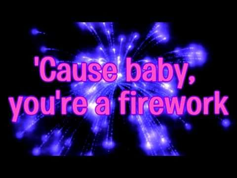 Katy Perry  - Firework  - Lyrics Video