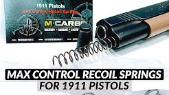 1911 Max Control Recoil Springs Kit - 1911 Recoil Spring Kit - Best 1911 Recoil Spring Selection!