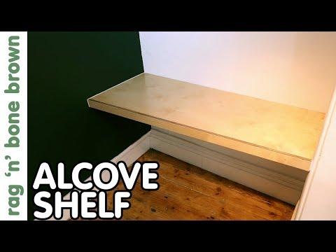 Scribe Fitting An Alcove Shelf