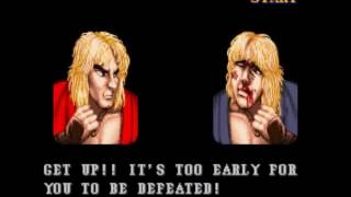 Street Fighter II Turbo - Hyper Fighting (SNES) : Ken Playthrough