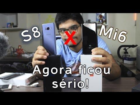 Galaxy S8 ou Xiaomi Mi6, quem leva a melhor?   Comparativo