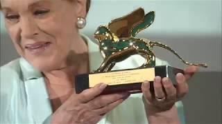 76. Mostra del Cinema - Julie Andrews award ceremony / cerimonia di premiazione