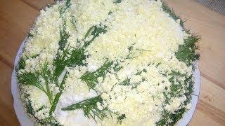 Салат Мимоза Классический Рецепт/Mimosa Salad Recipe