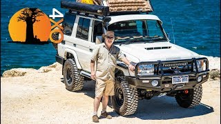 How to convert a SUV into a 4x4 Overland Tourer. Toyota Land Cruiser VDJ76