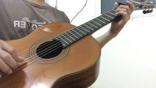 Mùa mưa đi qua - Ngọc Sơn - guitar solo - cover