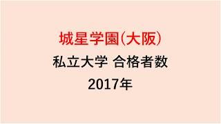 城星学園高校 大学合格者数 H29~H26年【グラフでわかる】