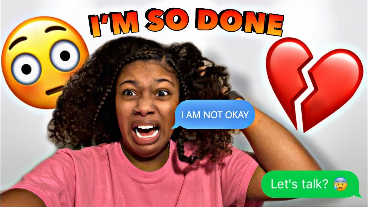 I AM SO DONE AND EMBARRASSED | NEVER AGAIN WILL I LET THIS HAPPEN 😞LET'S TALK ....