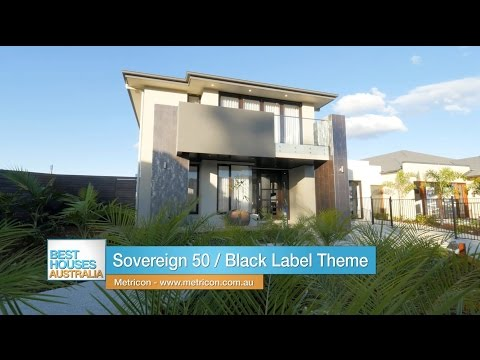 Metricon's Sovereign 50 display home on Best Houses Australia