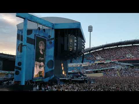 Ed Sheeran - I see fire  (4K, Gothenburg 10/7-2018)