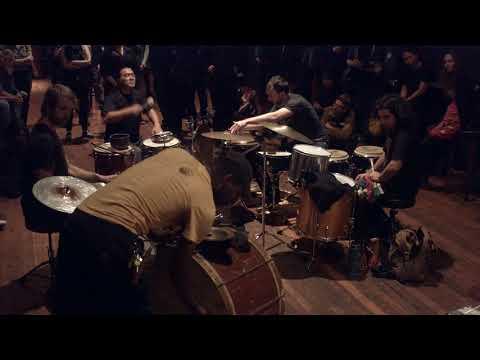 percussion sextet: Corcoran, Heule, Lopez, Nakatani, Stackpole, & Trammell
