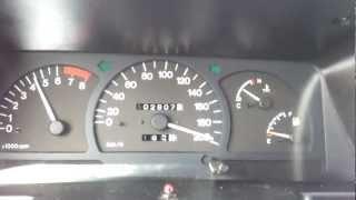 Daewoo Cielo ( Nexia ) speed test.