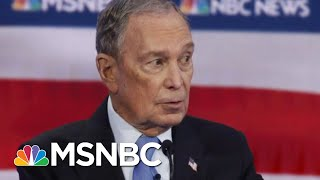 Rivals Pile On Michael Bloomberg In His Debate Debut | Velshi & Ruhle | MSNBC