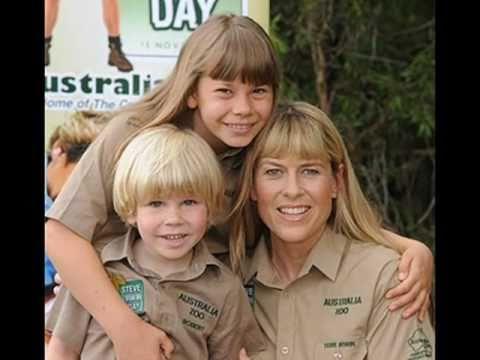 Terri Bindi Robert Irwin Steve Irwin Day Youtube