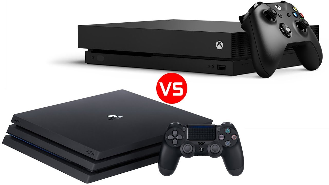 Download Xbox One X vs PS4 Pro - Whats the Better Console?