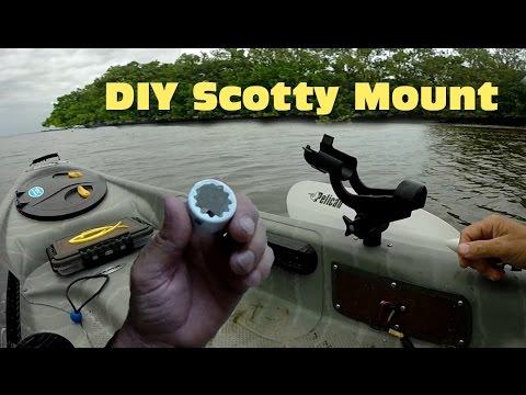DIY Scotty Mount From PVC