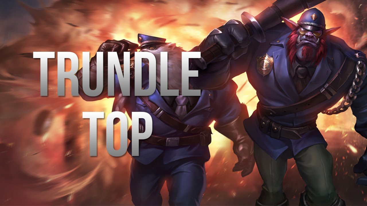 League of Legends - Constable Trundle Top - Full Game ...