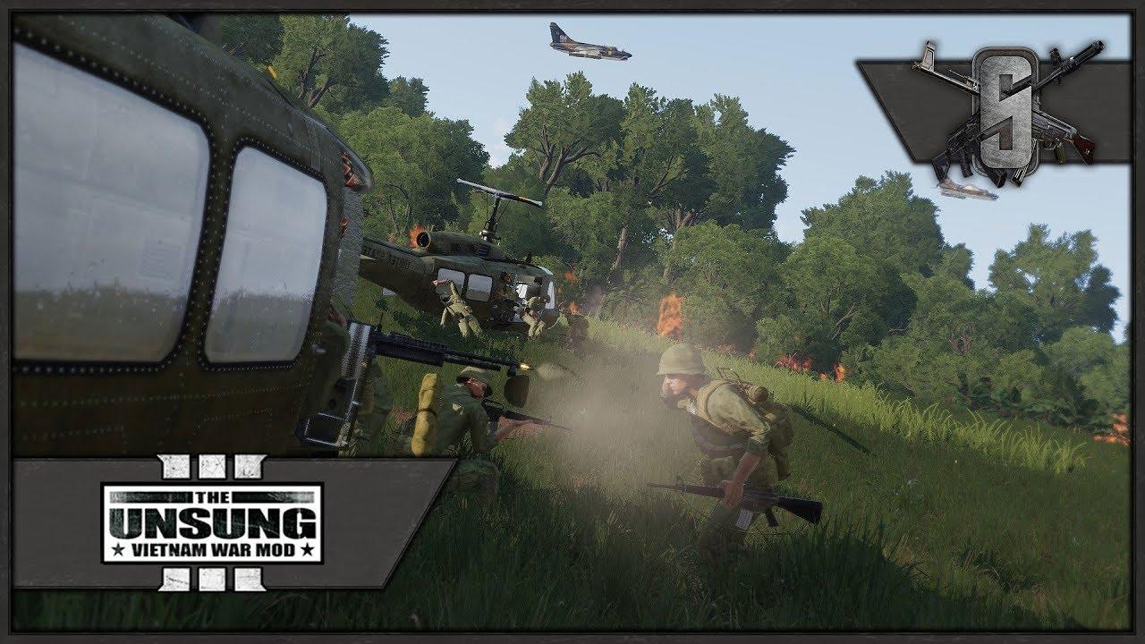 WE ARE GOING DOWN! - ArmA 3 Unsung Vietnam Mod- Patrol OP Echo Gameplay
