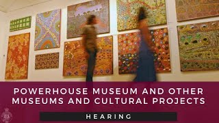 NSW Parliament - Mngmt of museums and cultural projects in NSW – 29.07.20 – 4.15pm to 4.45pm - YouTube