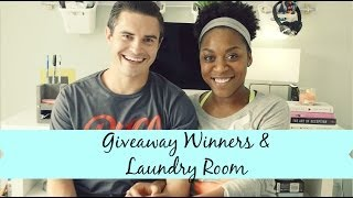 Giveaway | Laundry Room Reveal