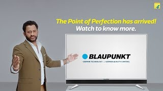 Launching Blaupunkt TVs