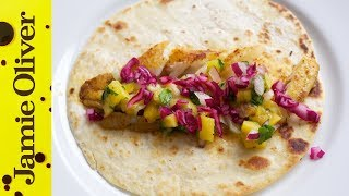 Kick-ass Fish Tacos And Mango Salsa With Dj Bbq