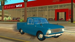 OLD SCHOOL RUSSIAN CARS - MTA RADMIR