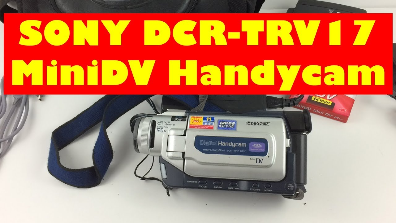 SONY DCR TRV17 DOWNLOAD DRIVERS