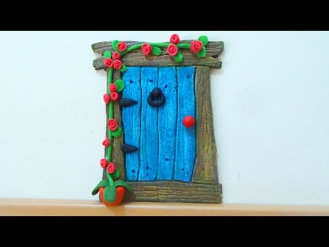 Diy Crafts Fairy Door Or Mouse Door Isa ️ Youtube