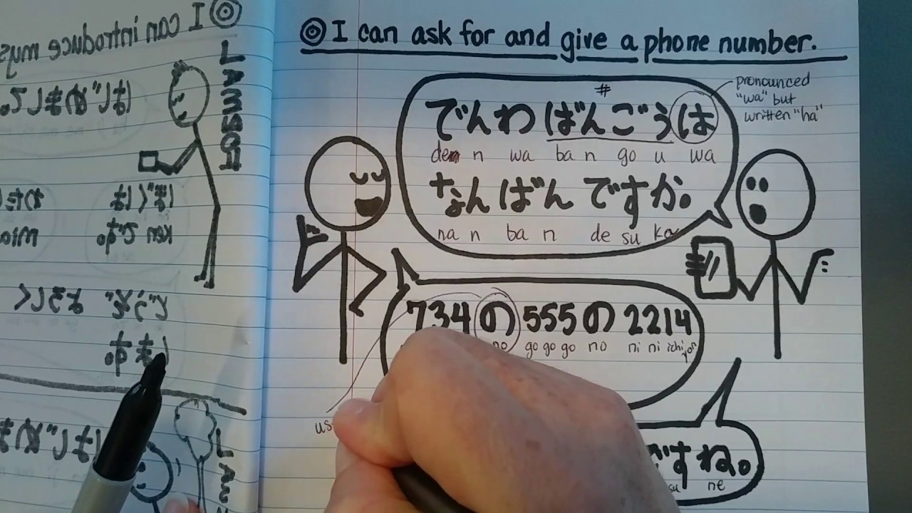 How To Say My Phone Number Is In Japanese Hiragana  hno.at