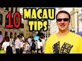 Macau Travel Tips: 10 Things to Know Before You Go