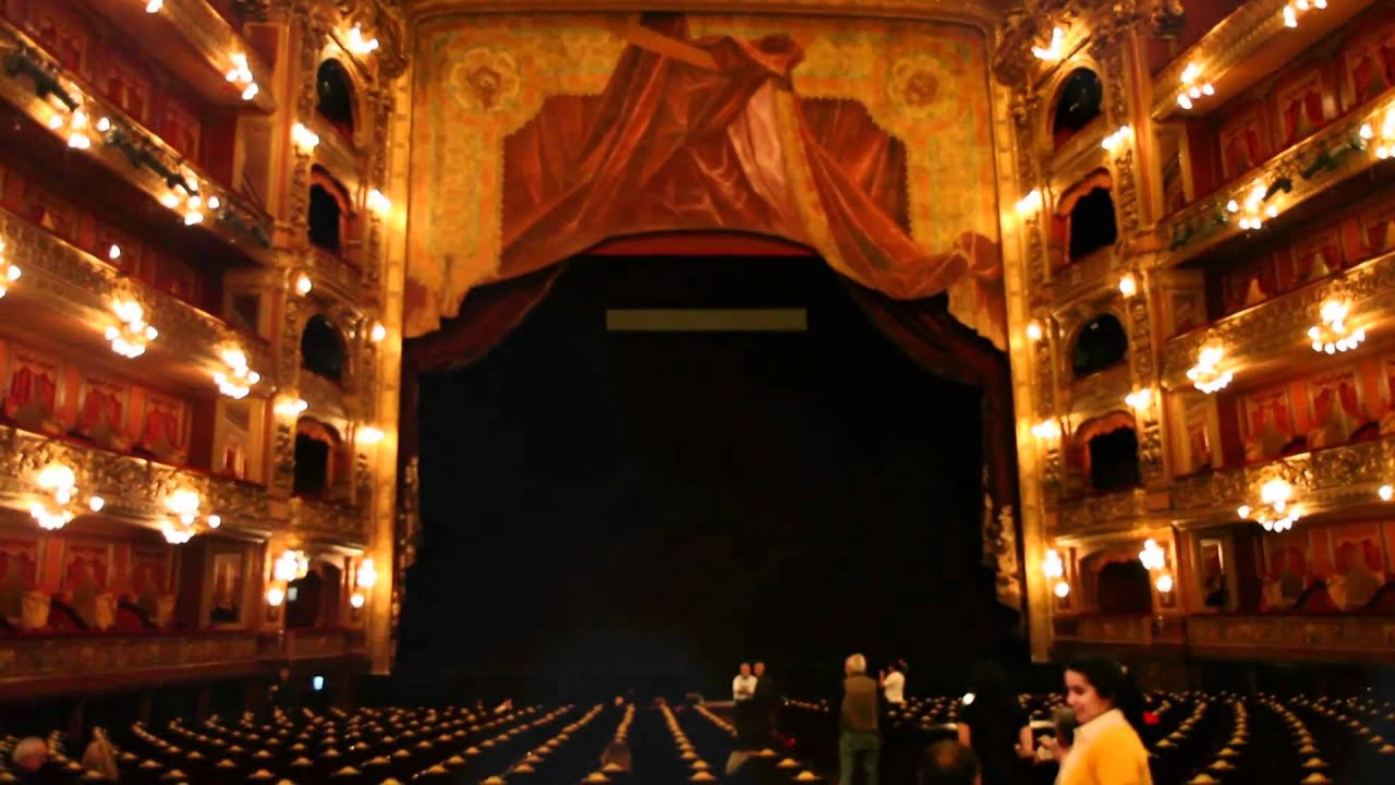 El Teatro Col N Por Dentro Youtube