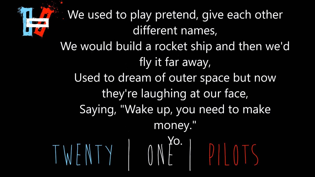 Twenty One Pilots Stressed Out Lyrics Audio Youtube