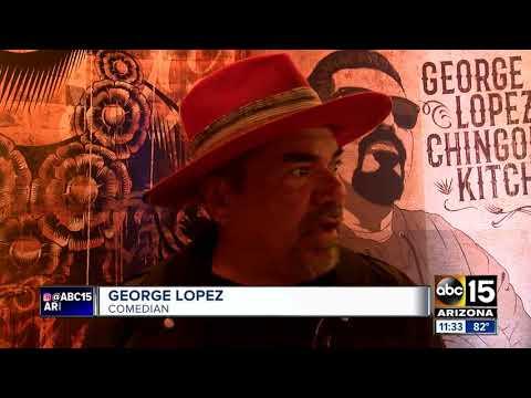 Sneak Peek: George Lopez Opens Restaurant At Vee Quiva Hotel In Phoenix