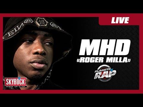 "MHD '""Roger Milla"" en live #PlanèteRap"