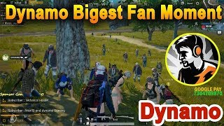 DYNAMO GAMING BIGGEST FAN MOMENT | PUBG Mobile Meetup | DYNAMO Big Fan Emotional Moment, Face Reveal