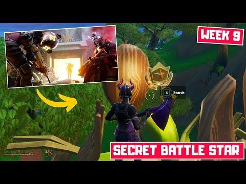 Fortnite Secret Battle Star Week 9 Season 10 Location! - Ready Or Not... Missions Season X